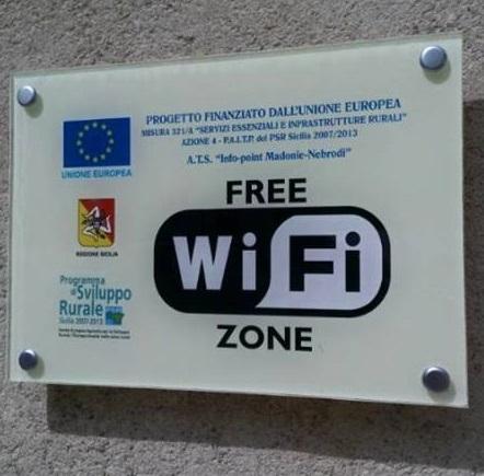 Petralia, wi-fi gratuita in due piazze