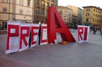 Precari in piazza verso lo sciopero del 13 dicembre, si comincia domani