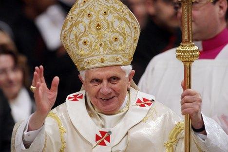 Il testo del discorso delle dimissioni del Papa Benedetto XVI