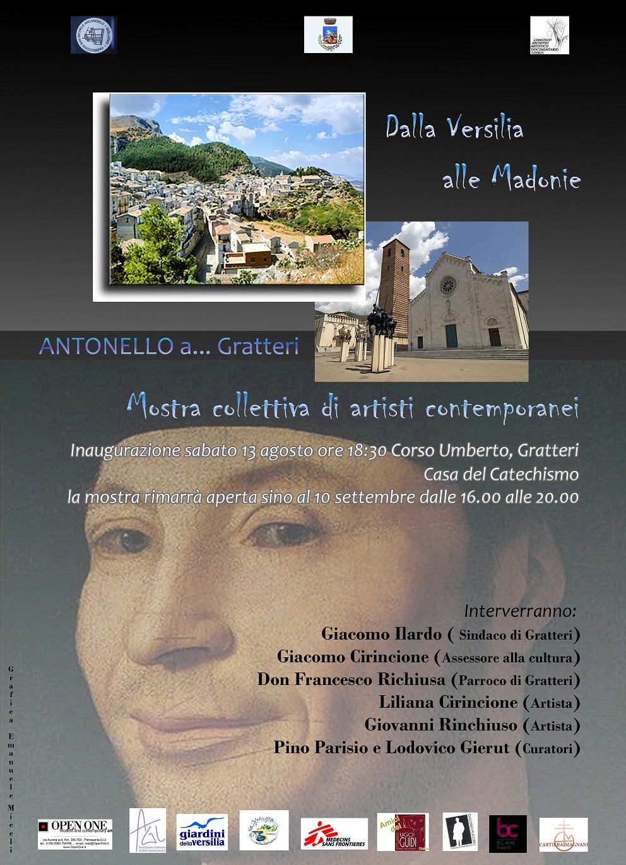Gratteri,omaggio ad Antonello da Messina con le opere di 24 artisti contemporanei