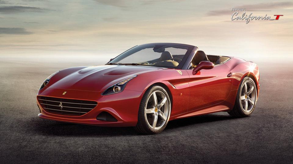 In anteprima mondiale la nuova Ferrari California T attraversa le Madonie