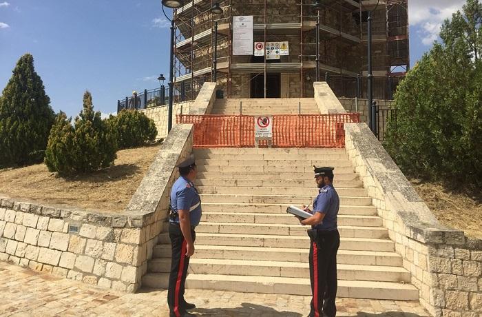 Controlli dei carabinieri nei cantieri, ad Alimena denunciate otto persone