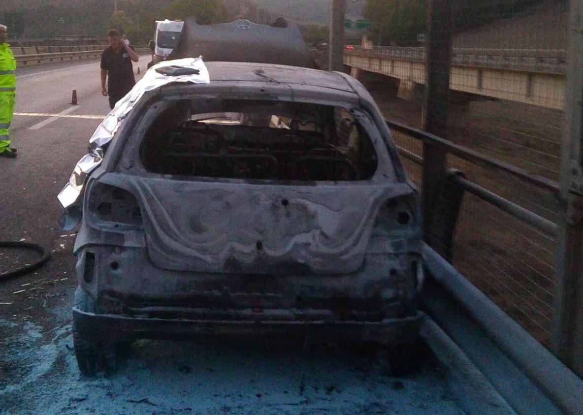 Tragedia sulla A19, muore carbonizzato un 47enne di Petralia Sottana