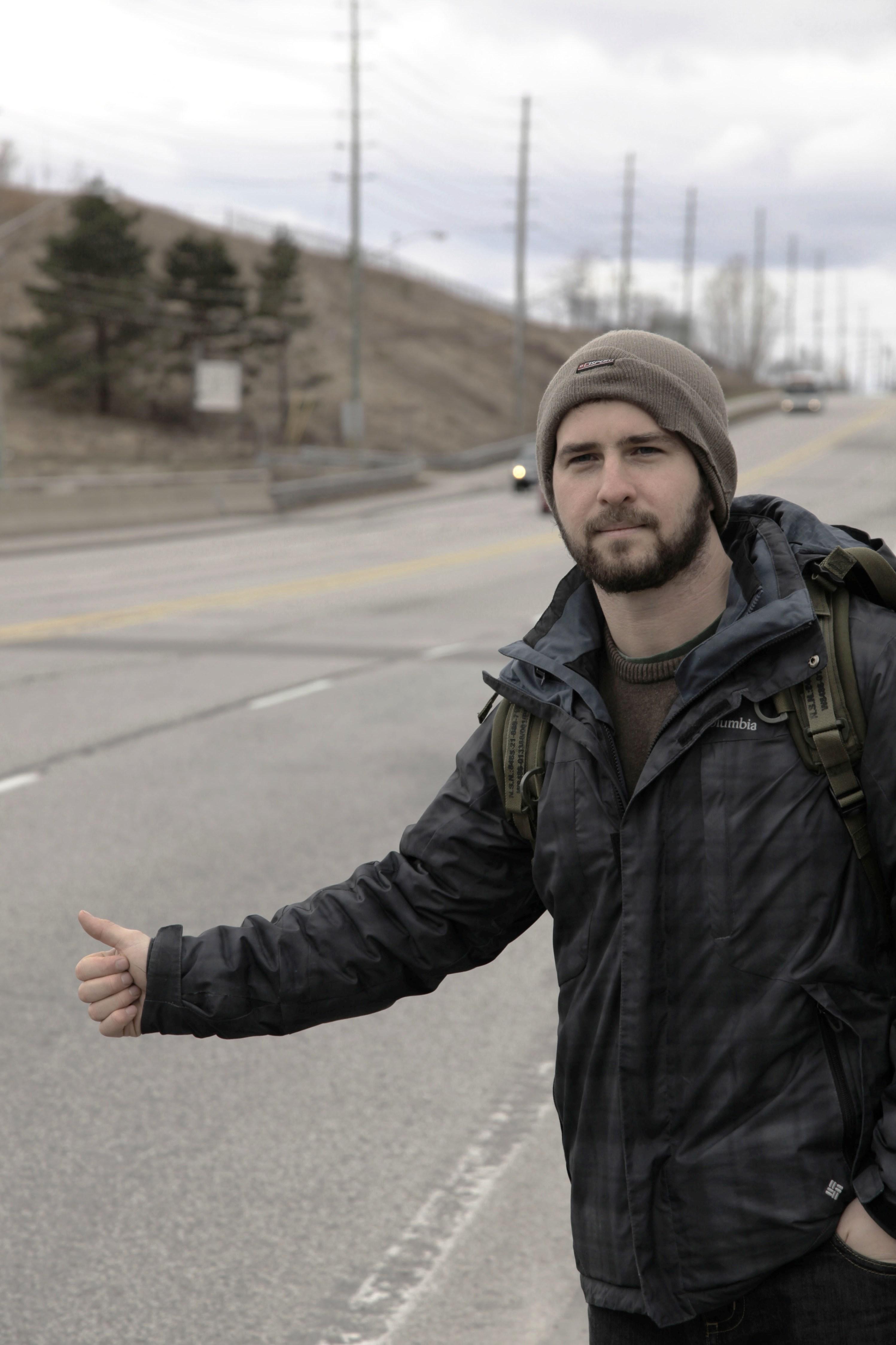 Nuova avventura per Igor, in autostop attreverso il Canada