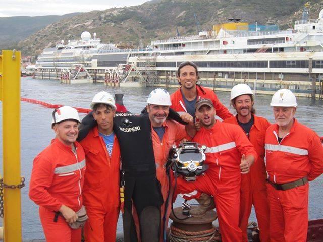 """""""Io sulla Concordia"""", così abbiamo rialzato la nave"""