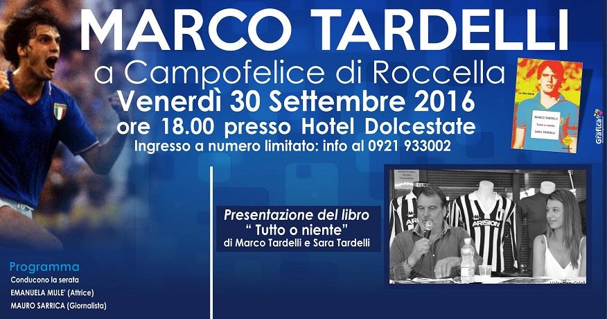 """Campofelice, """"Un urlo mondiale contro la violenza sulle donne e nello sport"""" con Marco Tardelli"""