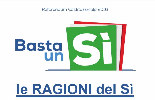 Referendum, presentato il documento del Comitato madonita per il Si
