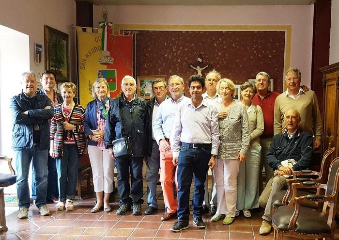 I club rotary di Cefalù e Segrè visitano il borgo di San Mauro Castelverde