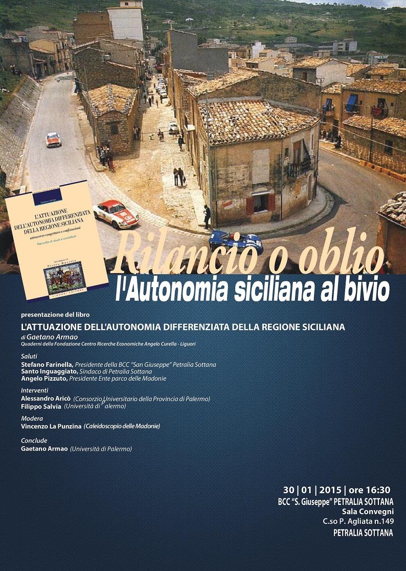 Petralia Sottana, Gaetano Armao presenta il suo ultimo libro