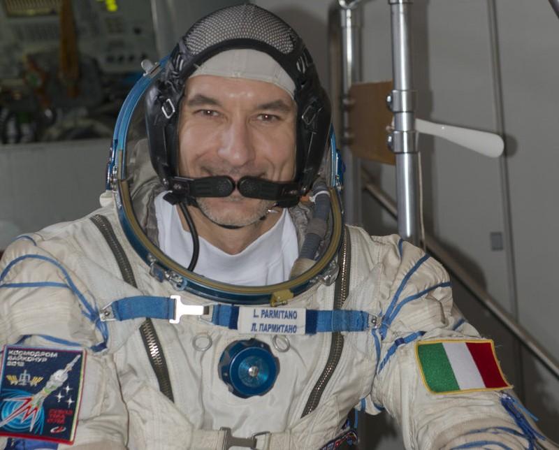 Un po´ di Sicilia in orbita, Parmitano sbarca nella stazione spaziale