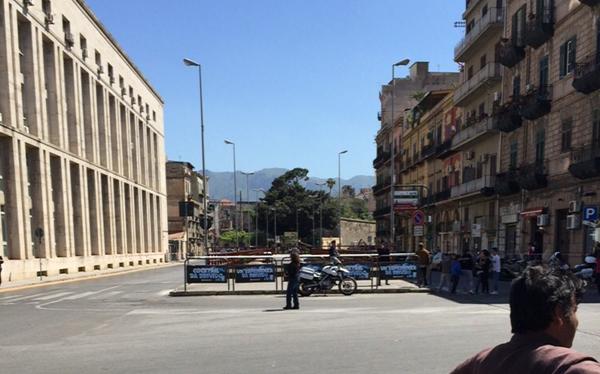 Palermo, allarme bomba al Tribunale