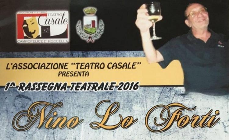 Campofelice e Collesano ricordano Nino Lo Forti con una rassegna teatrale
