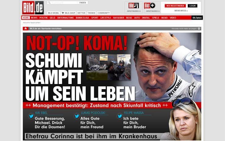 Schumacher è caduto per aiutare una bimba in difficoltà
