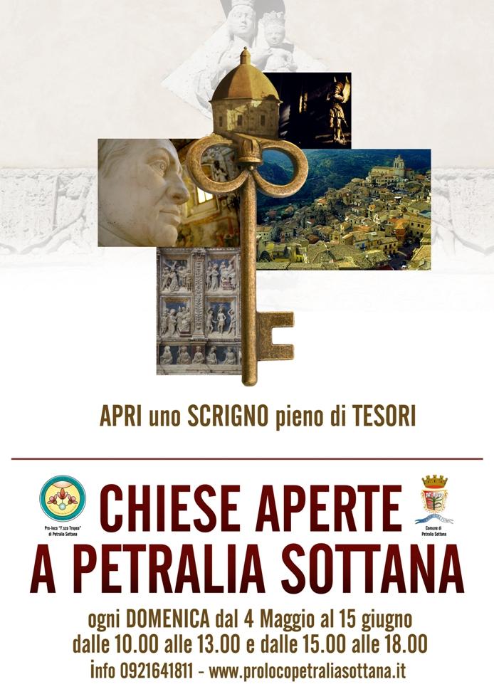 """Chiese aperte a Petralia Sottana, il """"giglio di roccia"""" si schiude tutte le domeniche"""