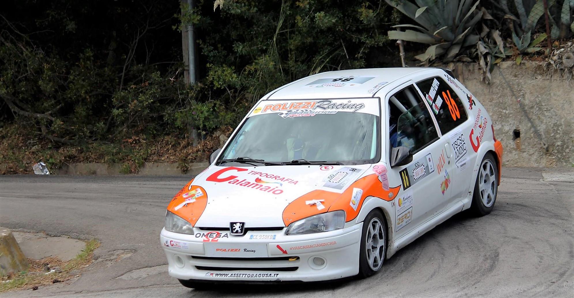 Passione Motori ASD, i termitani Mirici Cappa/Di Gesù al Rally Terre di Pirandello