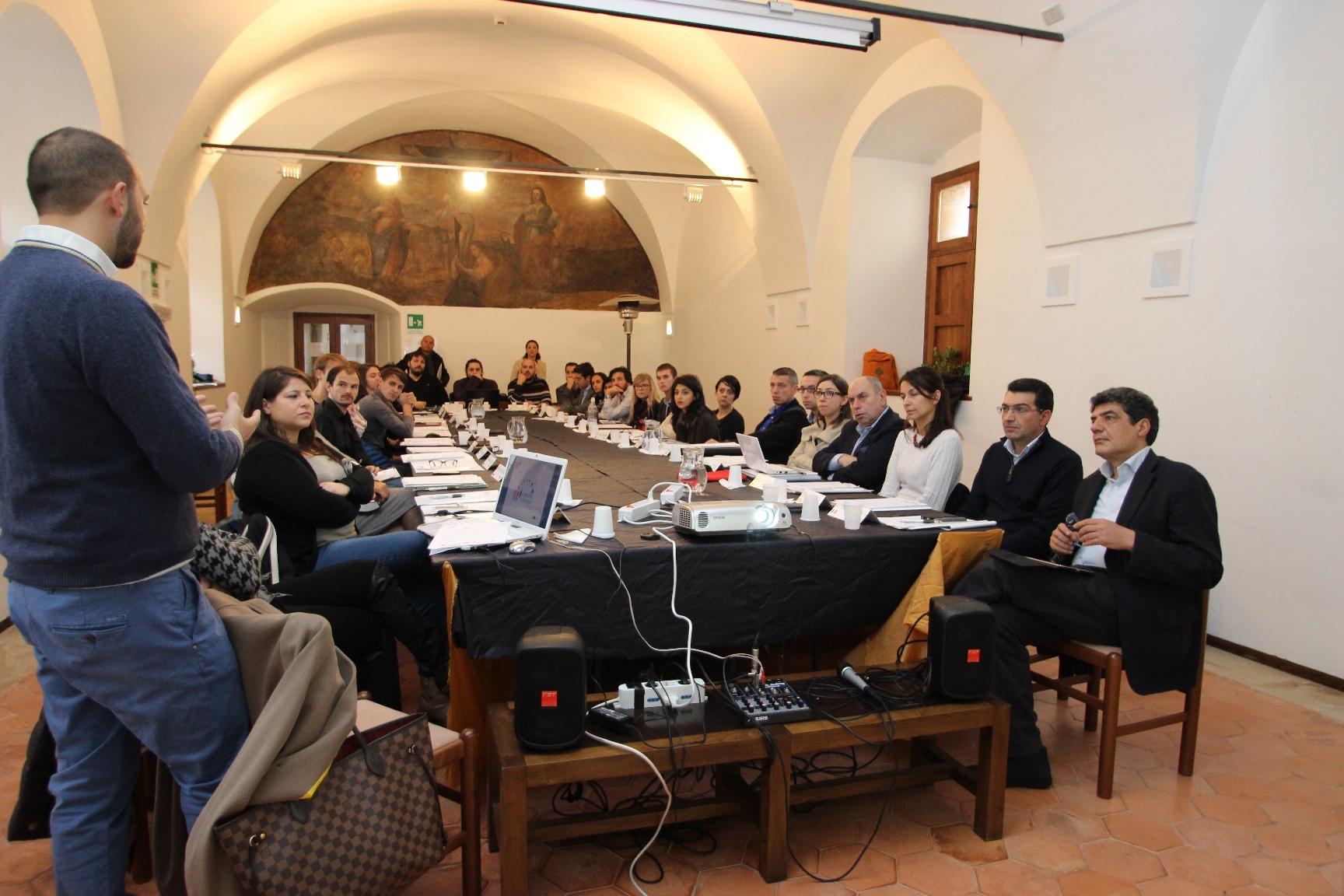 Il Comune di Geraci al Meeting Internazionale di Roma