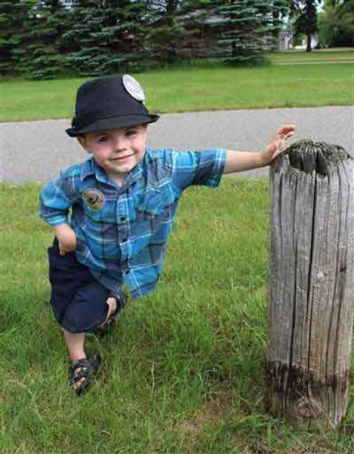 Bobby, il sindaco di 4 anni