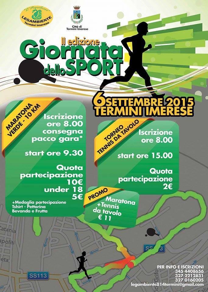 Termini Imerese. Domani al via la Maratona Verde organizzata da Legambiente