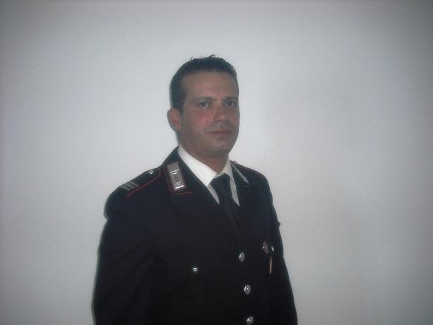 Gangi saluta il maresciallo Mottareale, nominato comandante a San Mauro
