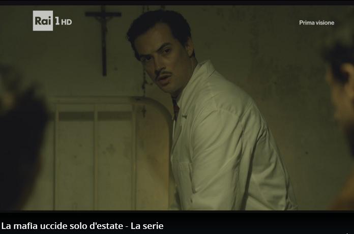 """L'attore madonita Bruno Di Chiara """"spacca"""" lo schermo nella fiction Rai"""