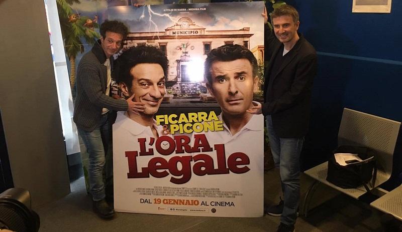 """Ficarra e Picone presentano """"L'Ora legale"""": """"E Termini è meravigliosa"""""""