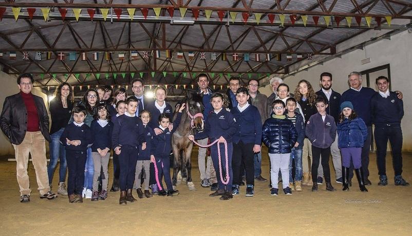 Gangi, inaugurato il nuovo centro per la riabilitazione a cavallo
