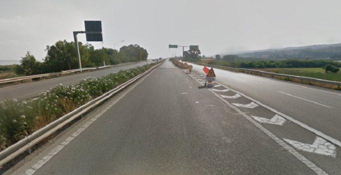 schianto autostradale