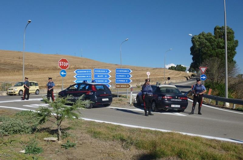 Controllo straordinario del territorio, sei persone denunciate dai carabinieri