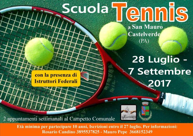 Estate a San Mauro, arriva la scuola di tennis: ecco come iscriversi