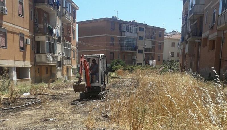 Termini Imerese, interventi di manutenzione straordinaria nel quartiere Rocca Rossa