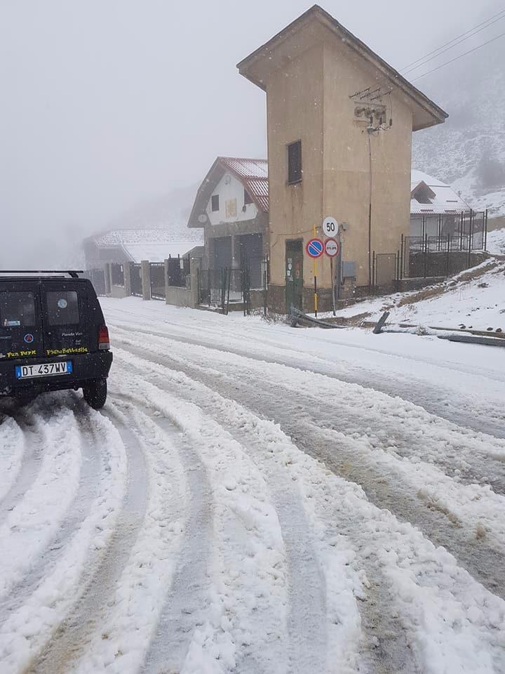 Nuova parentesi di freddo nelle Madonie: temperature sotto zero e (poca) neve