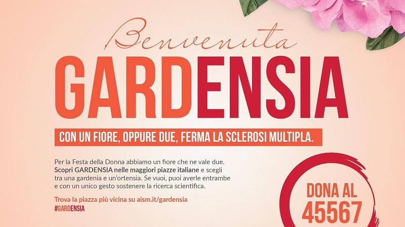 """""""Benvenuta Gardensia"""", la campagna contro la sclerosi multipla nelle piazze delle Madonie"""