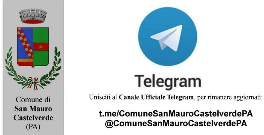 Il Comune di San Mauro Castelverde sbarca su Telegram: nasce il canale ufficiale
