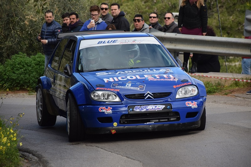 Rally di Cefalú, vince l'equipaggio Lo Cascio-Cancemi. Buoni i risultati per i madoniti