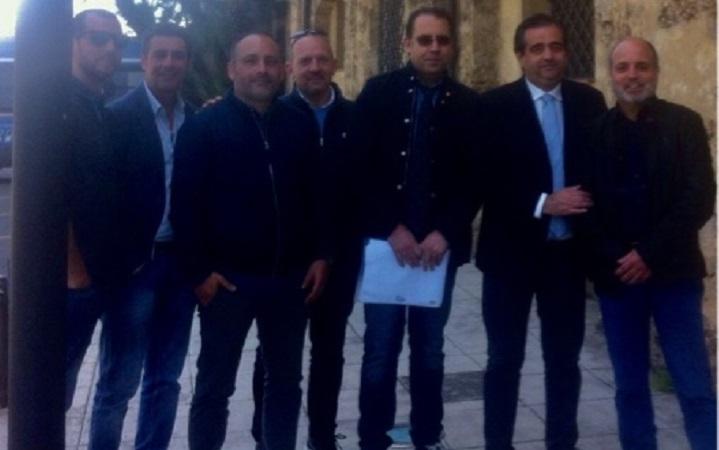 Blutec, il sindaco di Termini Giunta e gli operai incontrano il presidente Musumeci