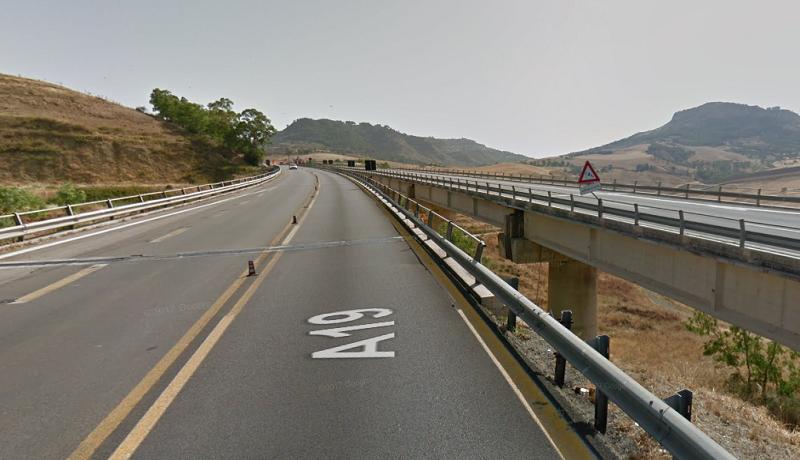 Problemi strutturali nel viadotto Ferrarelle: chiude una settimana la A19 direzione Palermo
