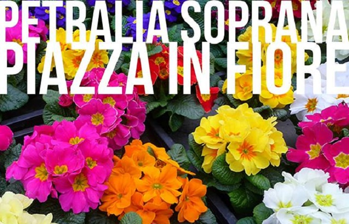"""Petralia Soprana si colora e profuma di fiori: torna """"Piazza in fiore"""""""