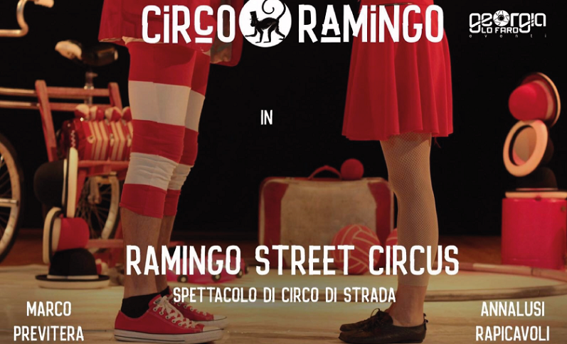 """A Castelbuono il """"Circo Ramingo"""": due artisti di strada da non perdere!"""