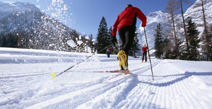 sci di fondo sci alpino