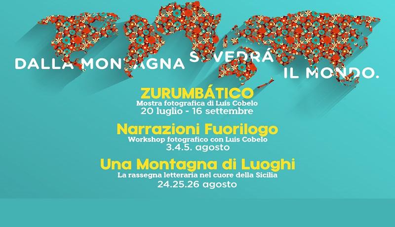 """Gangi, dal 24 al 26 Agosto torna la rassegna letteraria """"Una Montagna di Luoghi"""""""
