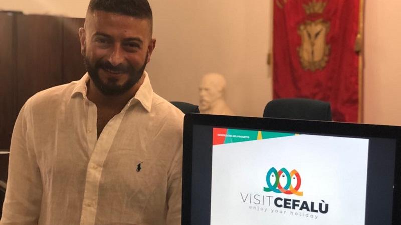 """Contest """"Visitcefalu"""", vince un giovane di Geraci Siculo. Ecco il logo selezionato"""