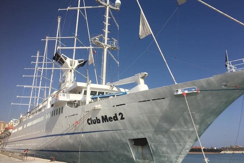 """Approdata al porto di Termini la nave Club Med, Giunta: """"Segnale di attenzione per la città"""""""