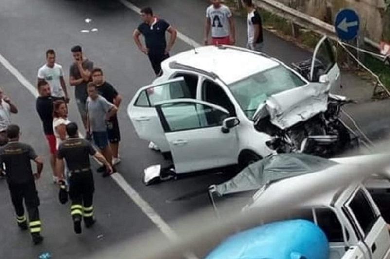 Frontale sulla strada statale Palermo-Agrigento, muore una donna di Montemaggiore