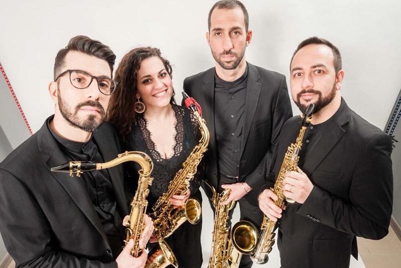 """Ad Isnello il concerto del """"Triskeles Saxophone Quartet"""""""