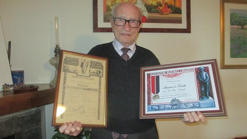 Castellana, è morto Matteo Ventimiglia, reduce e testimone della Strage del Pane