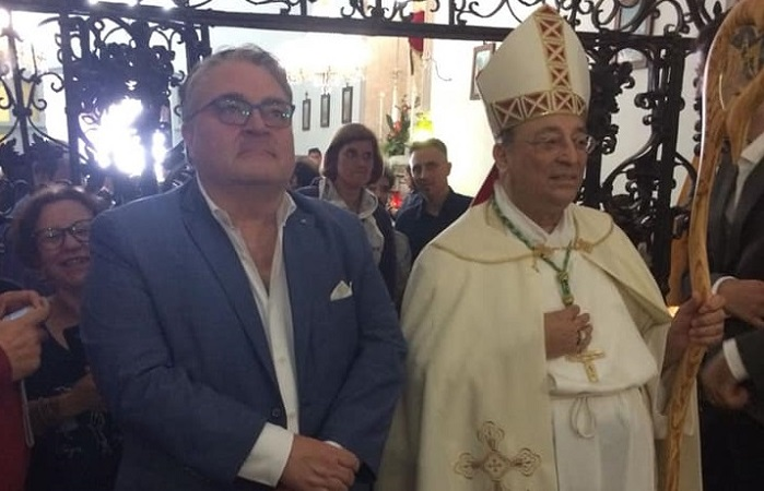 Madonna dell'Alto, in pellegrinaggio anche il vescovo Giuseppe Marciante e Biagio Conte
