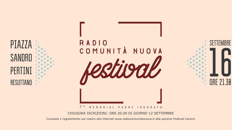 """A """"caccia"""" di nuovi talenti canori, torna il """"Radio Comunità Nuova Festival"""""""