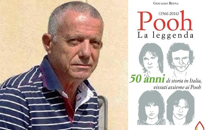 La leggenda dei 50 anni dei Pooh: pubblicato il libro del madonita Gesualdo Renna