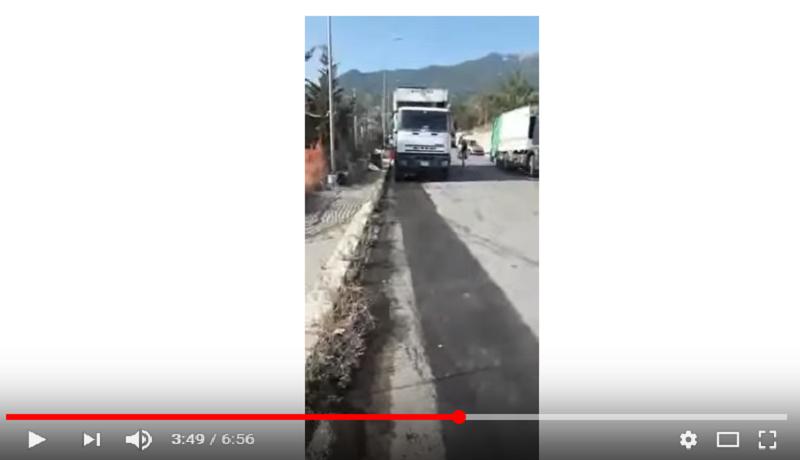 """Castelbuono: """"percolato dai compattatori"""", video denuncia di un operatore ecologico"""