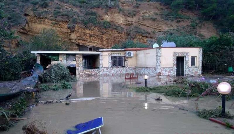 Maltempo, esonda il fiume Milicia: a Casteldaccia 9 morti in una villa